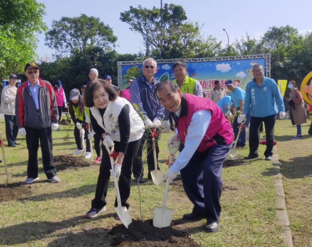愛護地球綠化家園   五結鄉舉辦植護樹暨親子健行活動