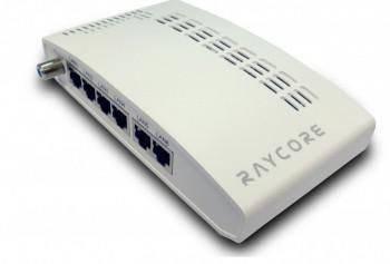 網管型L2 Gigabit乙太網路光纖網路交換器 7xTX-GbE-上行鏈路(光纖或RJ-45)+有線電視模組