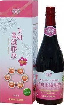 美妍棗鐵膠原酵素  (750ml/瓶)