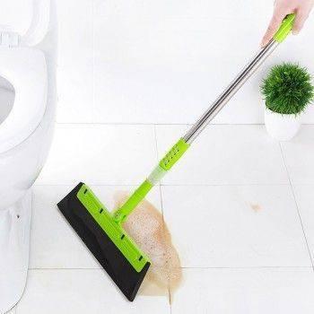 乾溼二用魔術掃把/伸縮掃把/玻璃刮刀/地板刮水器除塵掃水玻璃磁磚清潔 Lohogo樂活趣