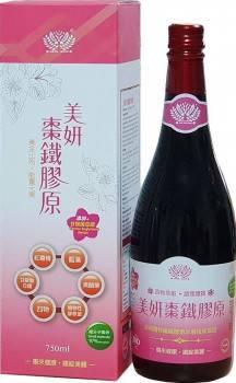 【晶準生技】美妍棗鐵膠原酵素 (750ml/瓶)