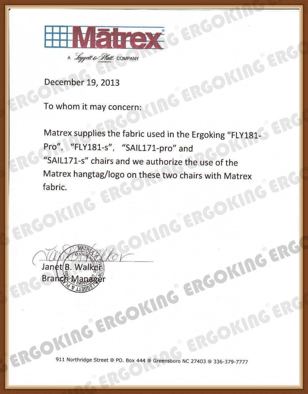 美國MATREX原廠授權認證