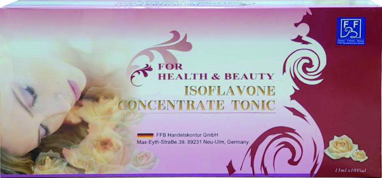 【晶美力】德國原裝 Isoflavone Concentrate Tonic 超濃縮補精 (15ml×10瓶/盒裝)