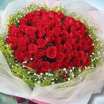 【特價花束】《真愛宣言》99朵玫瑰花束