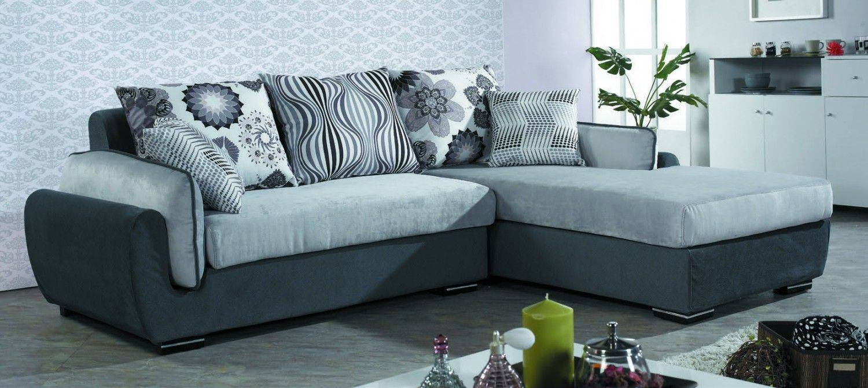 B018-180-1佐丹 L 型灰色沙發組 - 右 L