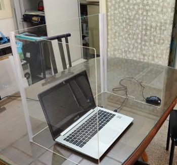 辦公室個人摺疊式防疫隔板