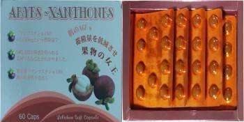 日本原裝  山酮素+褐藻膠原蛋白+蝦紅素 錠狀 (60粒/盒裝)