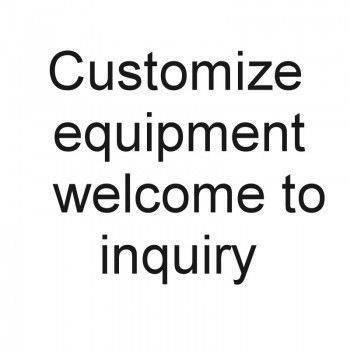 Customize equipment welcome to consultation