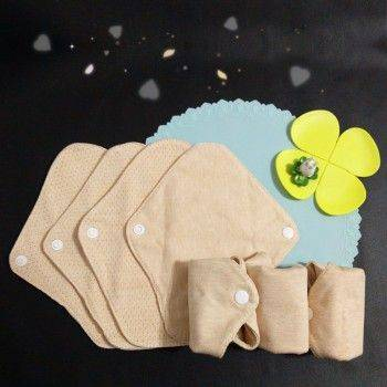 Lohogo 布衛生護墊 S-7片/有機環保可洗護墊(小號18cm)環保可重覆使用 Lohogo樂馨生活館推薦