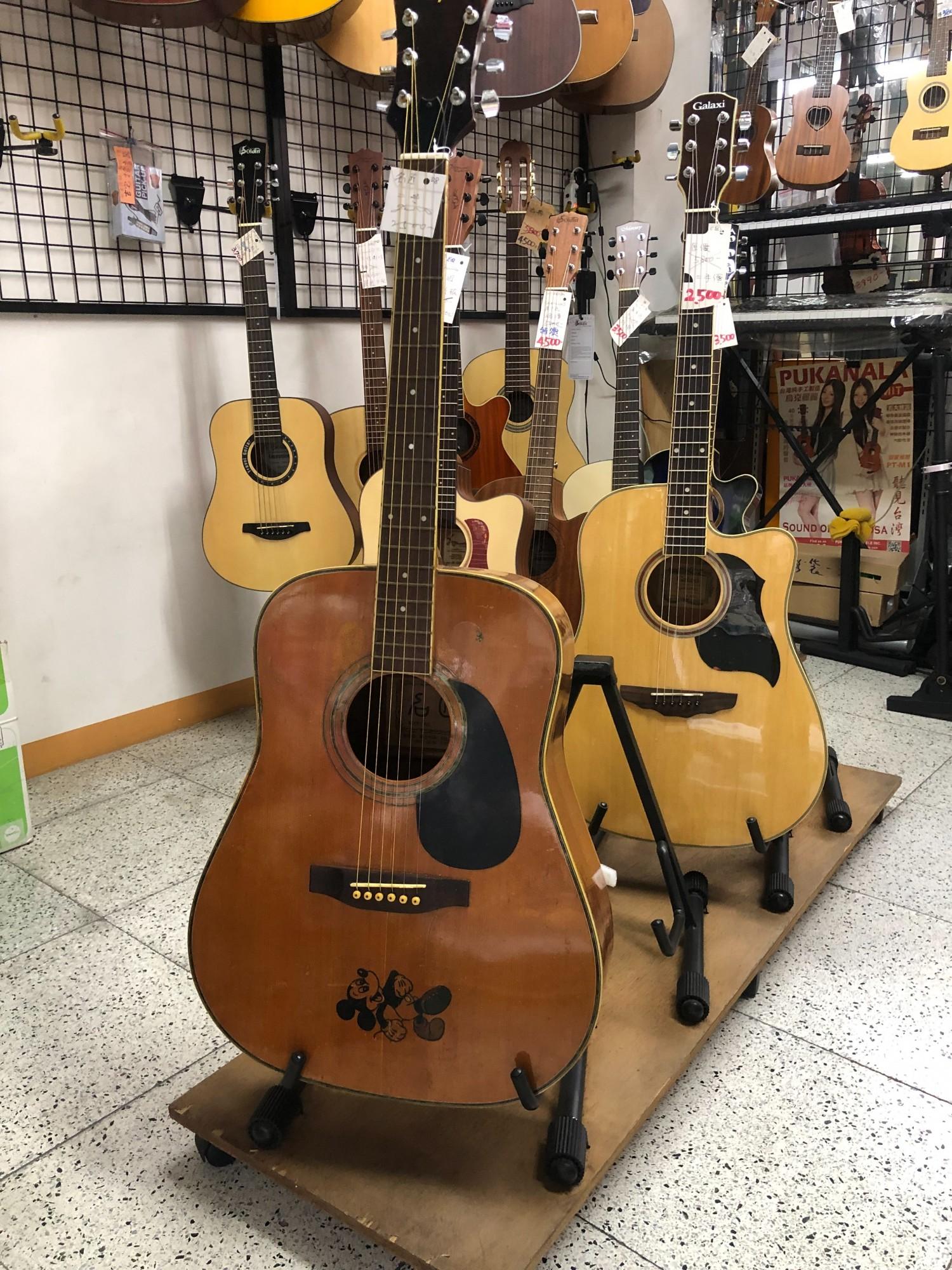 二手吉他   名將 中古吉他  清倉