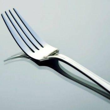 easy 304不鏽鋼西餐叉/牛排叉/主餐叉/沙拉叉 用料厚實 高品質 餐廳營業可套裝系列訂貨-1入