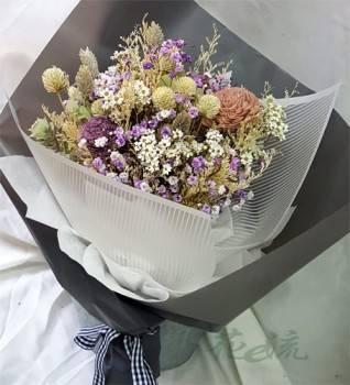 《愛情彌堅》粉彩乾燥花束