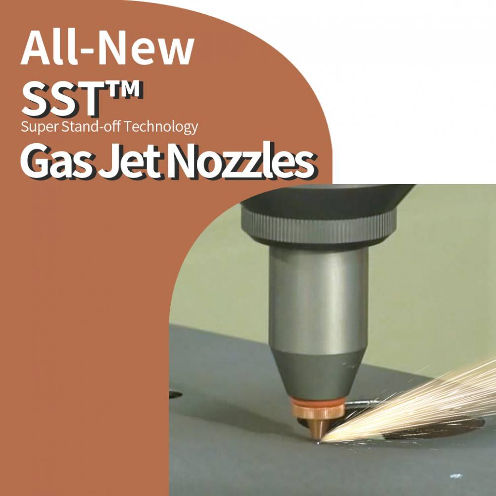 All-New SST™ Gas Jet Nozzles