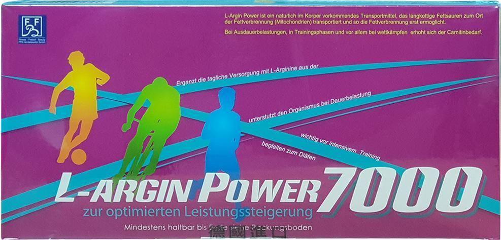 【晶優力】德國原裝 L-Argin Power 7000  (左旋精胺酸 L-Arginine) (25ml × 20瓶/盒)