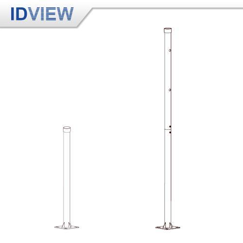 IV-5101-1M/2M 2.5 吋 不鏽鋼立柱