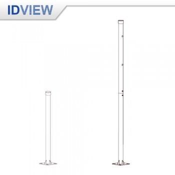 IV-5101-1M/2M 2.5 吋 <br>不鏽鋼立柱