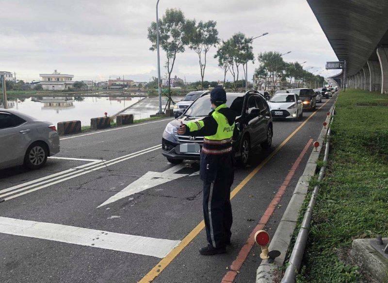 迎接228連假 宜警總動員全力交通疏導