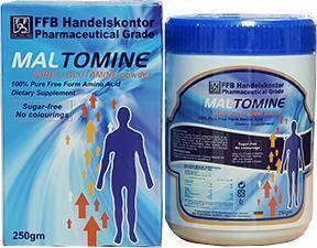 FFB 德國原裝  樂保命~左旋麩醯胺酸 高單位粉末營養補充食品 (250g/罐裝)