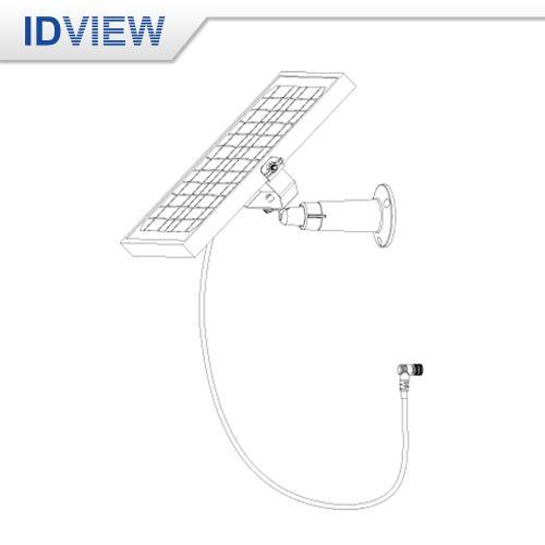 IV-5030 5W 太陽能板+支架