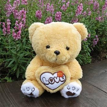 《Love》真愛抱心熊玩偶(6.5吋)一隻