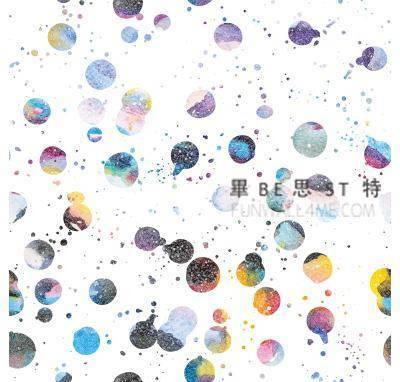 水彩球 0287