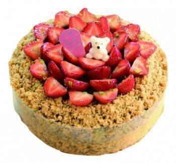 鮮果草莓(無奶油鮮蛋糕)