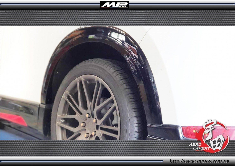 17-20 Mazda CX-5 馬自達 CX-5 K款輪弧 (附背膠)