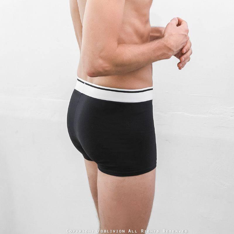 男舒適棉中腰平口褲
