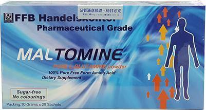 FFB 德國原裝 樂保命~左旋麩醯胺酸 高單位粉末營養補充食品 (20包/盒)