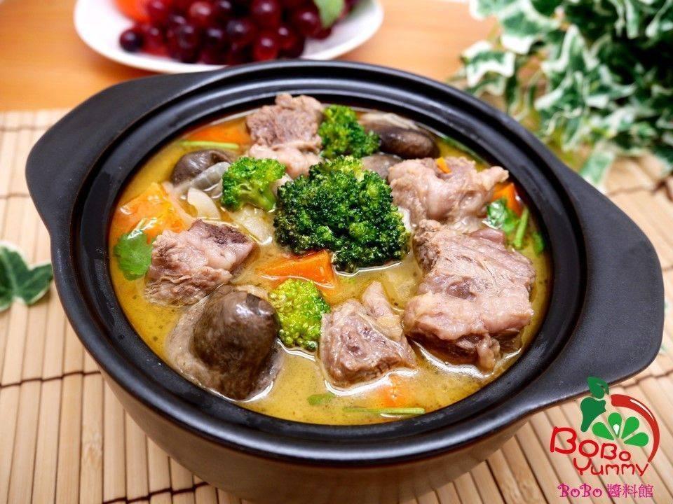 泰式咖哩酸辣牛肉湯鍋