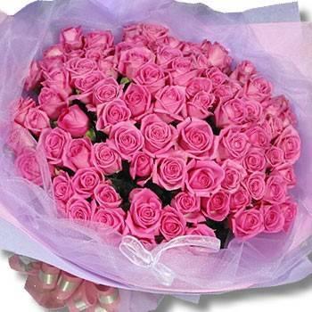 同品質花店最便宜-【永恆的愛】99朵玫瑰花束(不選色)