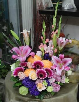 《力爭上游》精緻桌上盆花