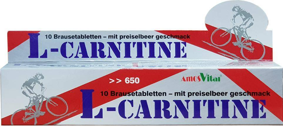 Amos Vital 德國原裝 L-Carnitine (左旋肉酸) 專利型發泡錠