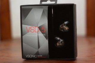 VSONIC VSD5 - 試圖突破重圍的新聲代
