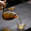 琉璃鳥嘴玻璃茶海_酒紅