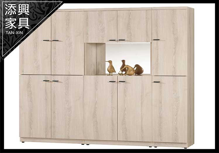 【鞋櫃】 【添興家具】 B841-1 塔利斯5尺玄關組合鞋櫃 大台北地區滿5千免運
