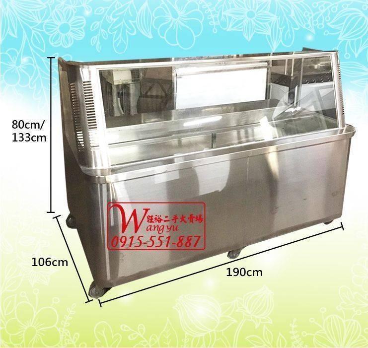 A6781 保溫展示櫥/玻璃展示台/自助餐檯/保溫櫥/展示櫃/訂製餐檯/自助餐檯/不鏽鋼餐檯