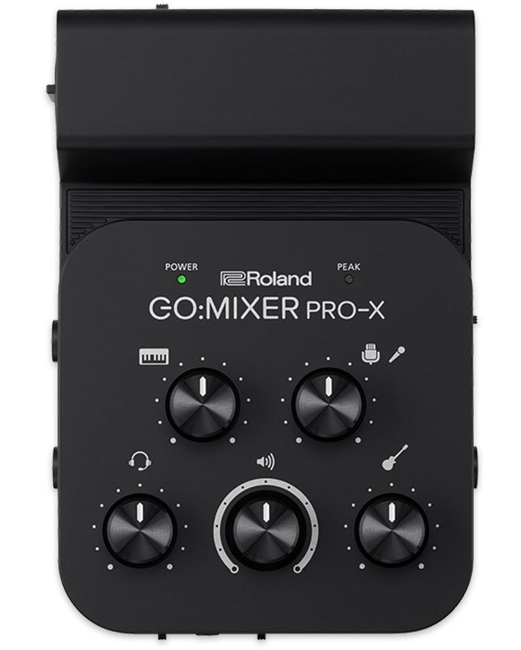 【金匠樂器】Roland  GO:MIXER PRO-X 智能手機音頻調音台