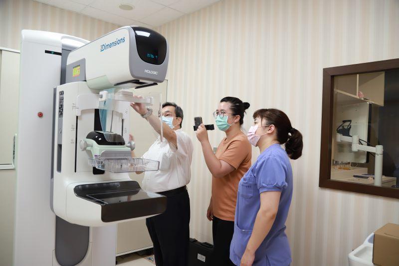 降低乳癌篩檢的不適與提升偵測率  博愛醫院引進蘭陽首台3D乳房攝影
