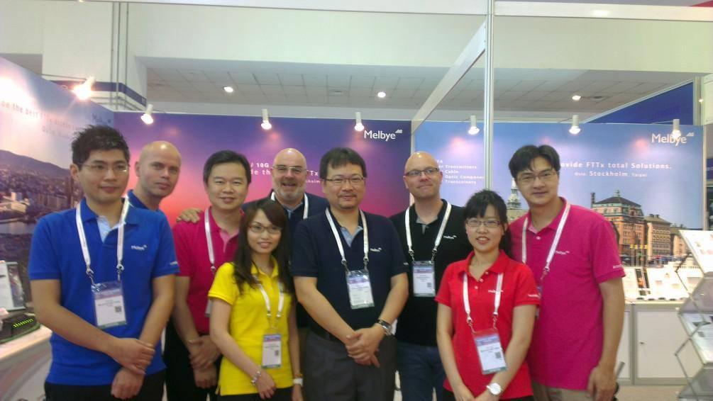 芯邦科技於新加坡CommunicAsia 2015展出完美閉幕