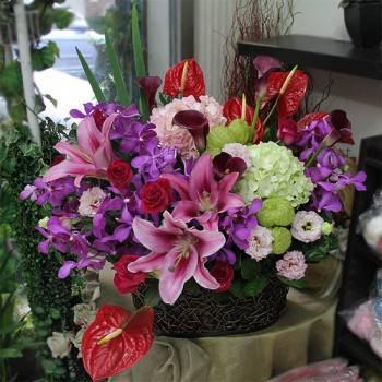 《喜臨門》精緻桌上盆花