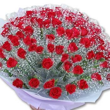 婚禮小物-50朵套袋玫瑰(單價每支60元)