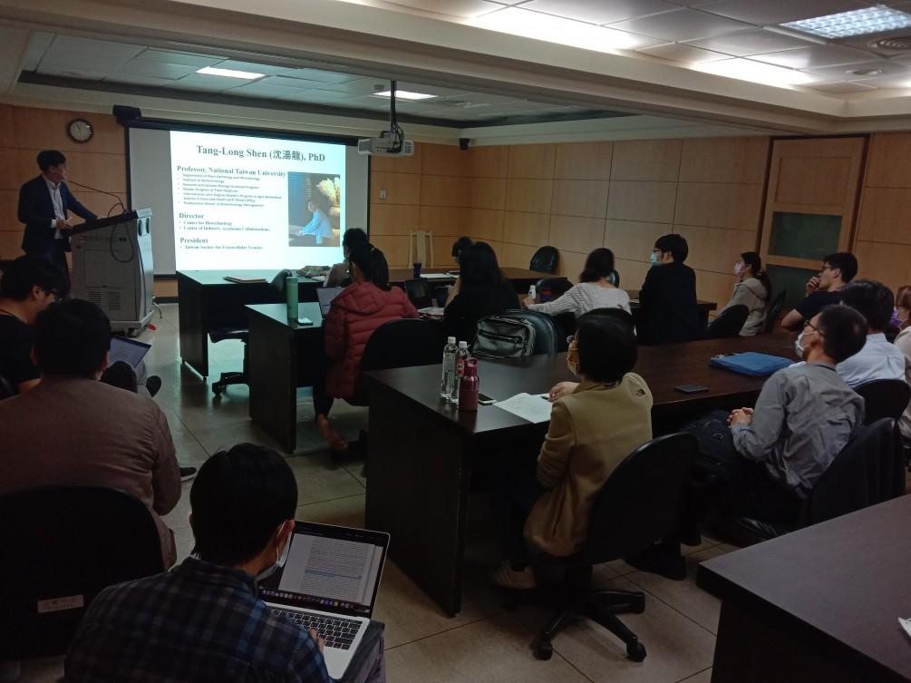[賀] 胞外體/細胞外囊泡(Exosome/EVs) workshop 實作及平台示範 @CGU with TSEV 圓滿成功, 感謝大家的支持喔~