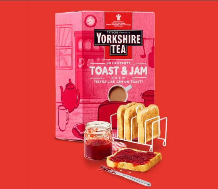 英國Taylors泰勒茶 – 吐司果醬風味約克夏紅茶 全新上市!