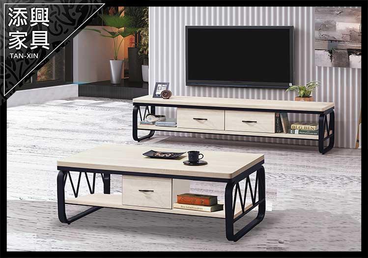 【長櫃】 【添興家具】 D102-5 白漂流木色6尺長櫃  大台北地區滿5千免運