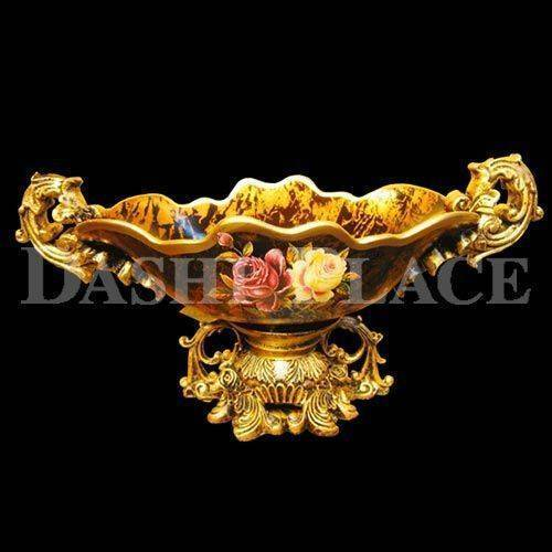 皇家尊爵手工彩繪-滿載聚寶盤 0223-004