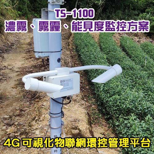 TS-1100濃霧、霧霾、能見度監控方案
