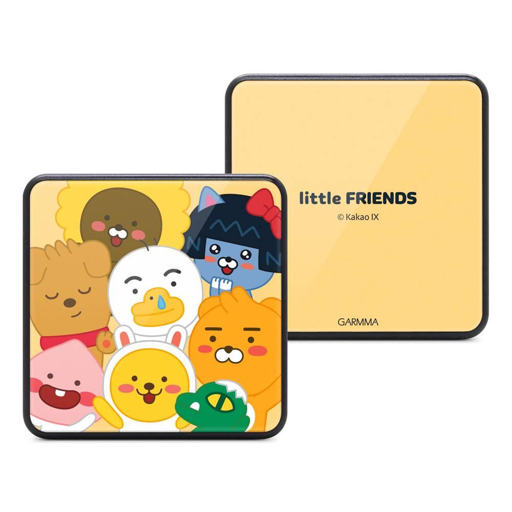 GARMMA KAKAO FRIENDS 玻璃鏡面行動電源 哈囉系列 Little Friends