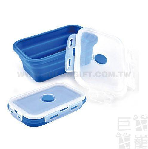 矽膠摺疊保鮮餐盒