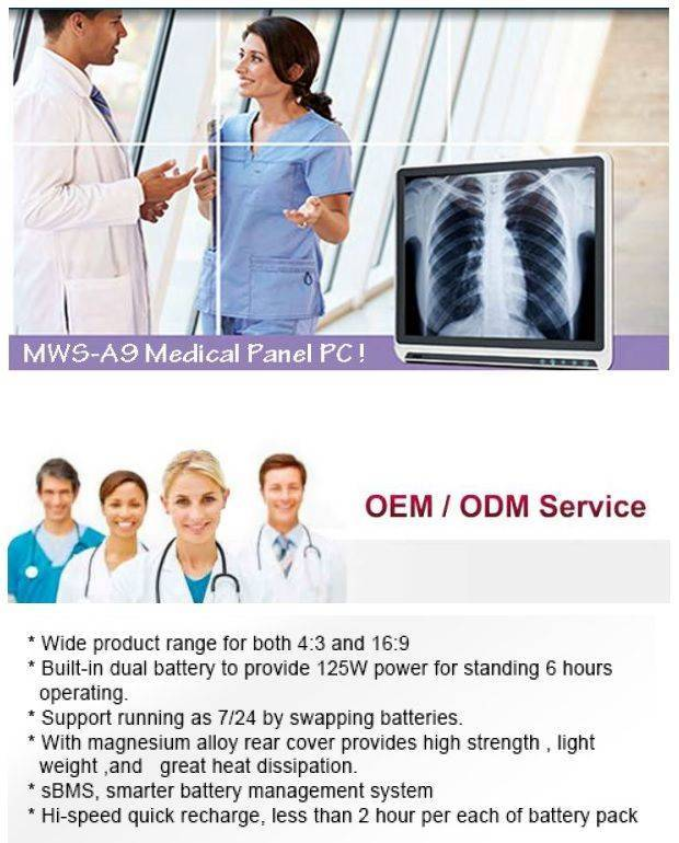 MWS-A9 Tailor Made Medical Computer!